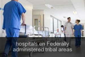 Hospitals en Federally administered tribal areas